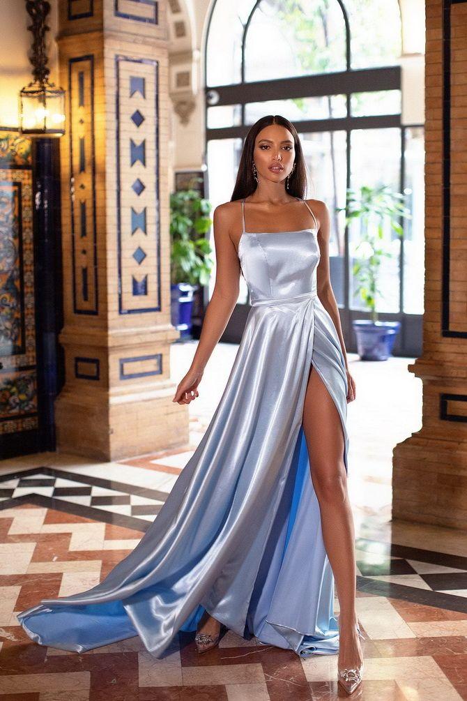 Модные платья с разрезом: лучшие фасоны и силуэты 2020-2021 года 3