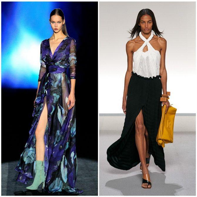 Модные платья с разрезом: лучшие фасоны и силуэты 2020-2021 года 32