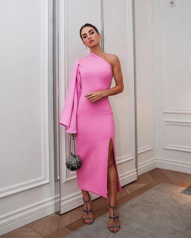 Модные платья с разрезом: лучшие фасоны и силуэты 2020-2021 года 39