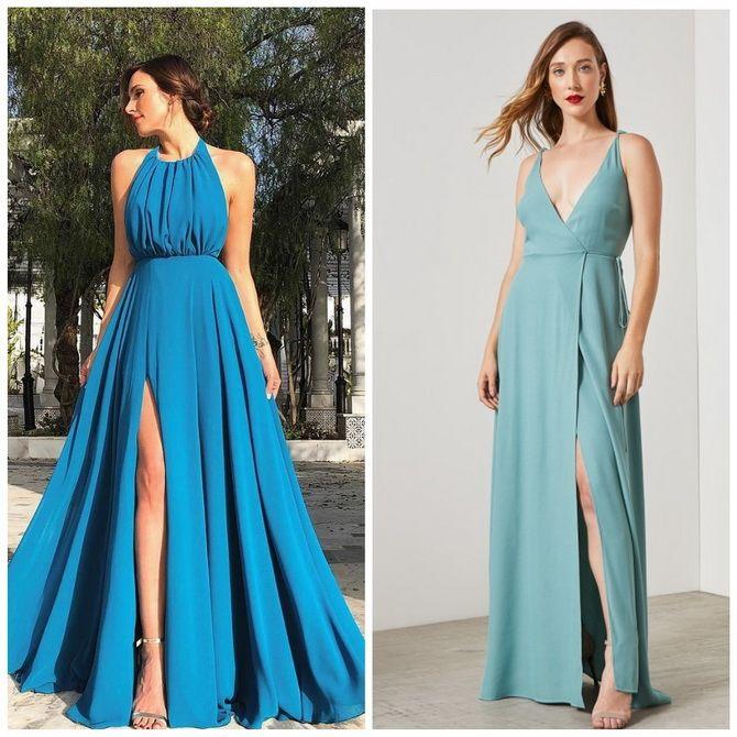 Модные платья с разрезом: лучшие фасоны и силуэты 2020-2021 года 8