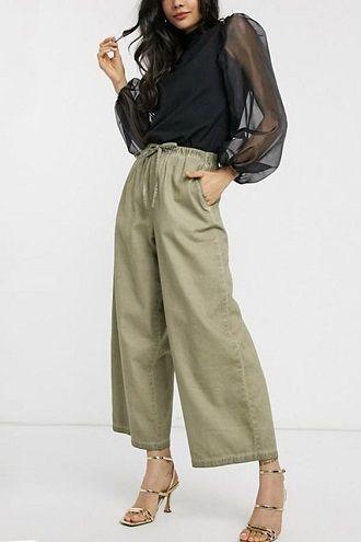 Літні штани на резинці: зручний і трендовий одяг в сезоні 2021-2022 49