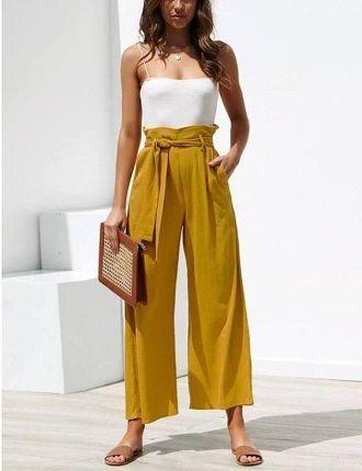 Літні штани на резинці: зручний і трендовий одяг в сезоні 2021-2022 51