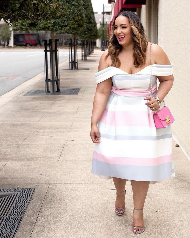 Літня романтика: обираємо сукню 2021-2022 року з відкритими плечима 20