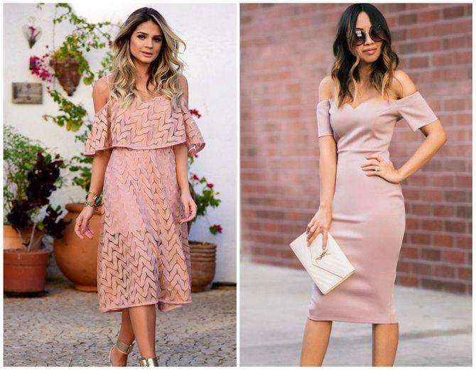 Літня романтика: обираємо сукню 2021-2022 року з відкритими плечима 30
