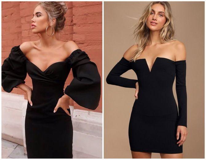 Літня романтика: обираємо сукню 2021-2022 року з відкритими плечима 32