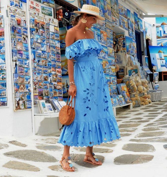 Літня романтика: обираємо сукню 2021-2022 року з відкритими плечима 34