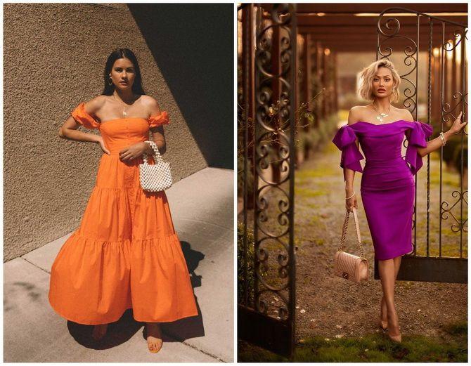 Літня романтика: обираємо сукню 2021-2022 року з відкритими плечима 5
