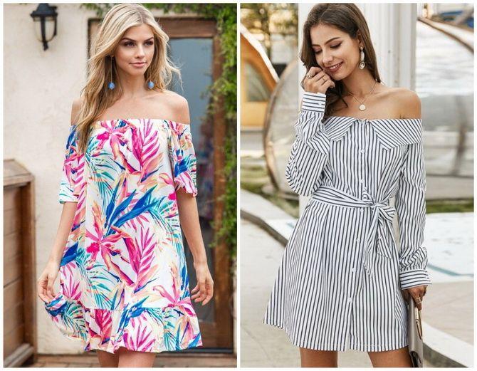Літня романтика: обираємо сукню 2021-2022 року з відкритими плечима 7