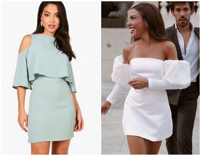 Літня романтика: обираємо сукню 2021-2022 року з відкритими плечима 8