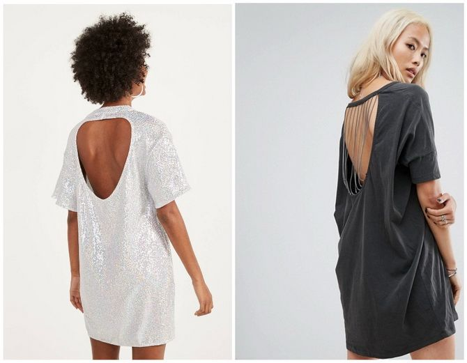 Повседневный наряд: лучшие платья-футболки 2020-2021 года 15