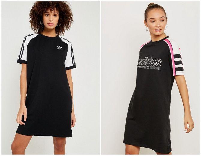 Повседневный наряд: лучшие платья-футболки 2020-2021 года 19