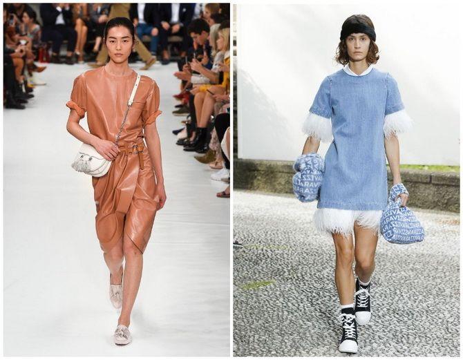 Повседневный наряд: лучшие платья-футболки 2020-2021 года 5