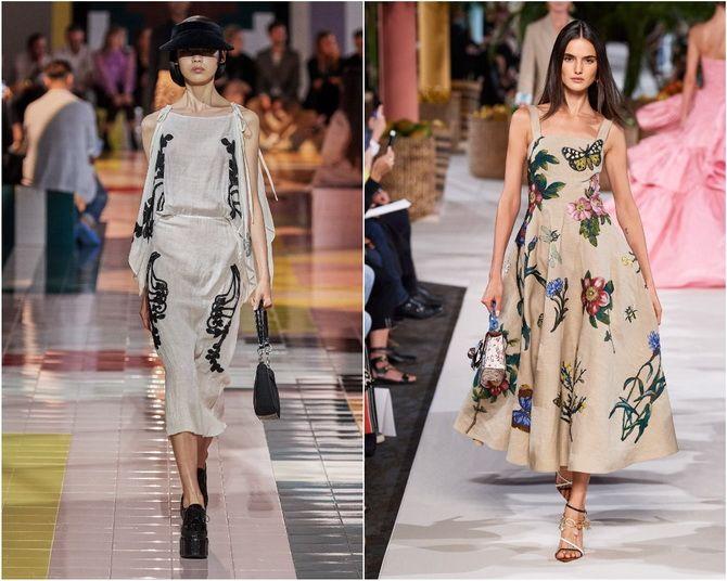 Льняное платье: ТОП-10 моделей 2020-2021 года 1