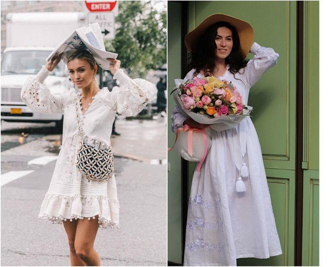 Льняное платье: ТОП-10 моделей 2020-2021 года 10