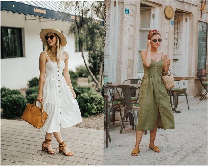 Льняное платье: ТОП-10 моделей 2020-2021 года 12