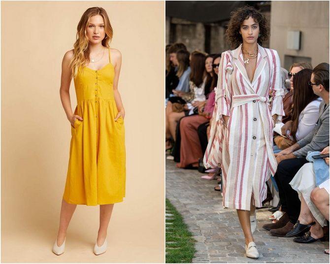Льняное платье: ТОП-10 моделей 2020-2021 года 13