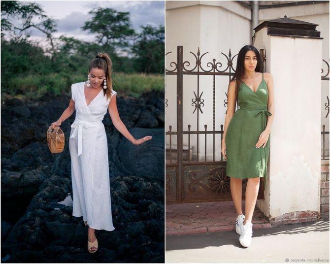 Льняное платье: ТОП-10 моделей 2020-2021 года 14