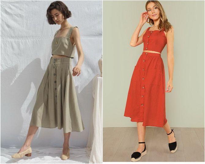 Льняное платье: ТОП-10 моделей 2020-2021 года 15