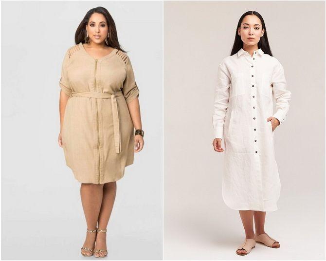 Льняное платье: ТОП-10 моделей 2020-2021 года 17