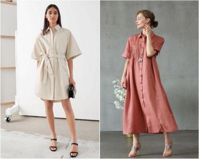 Льняное платье: ТОП-10 моделей 2020-2021 года 16
