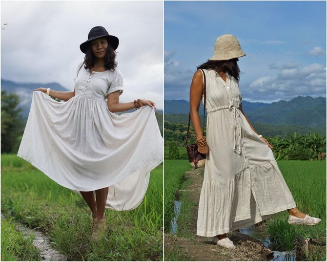Льняное платье: ТОП-10 моделей 2020-2021 года 18