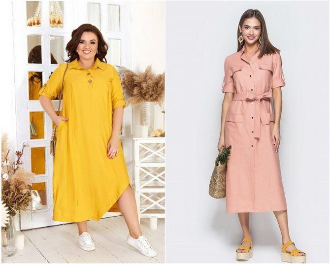 Льняное платье: ТОП-10 моделей 2020-2021 года 19