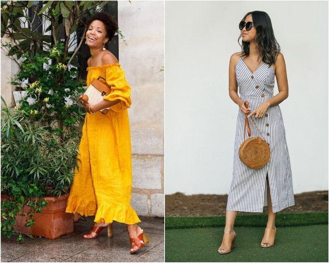 Льняное платье: ТОП-10 моделей 2020-2021 года 2