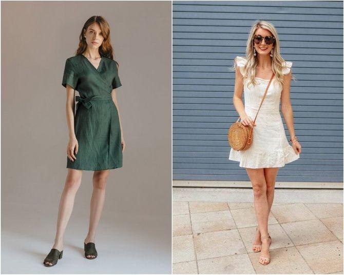 Льняное платье: ТОП-10 моделей 2020-2021 года 21