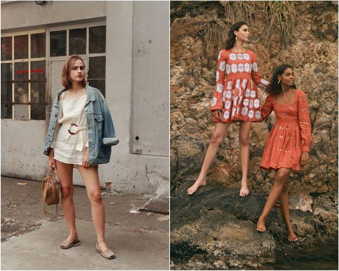 Льняное платье: ТОП-10 моделей 2020-2021 года 22