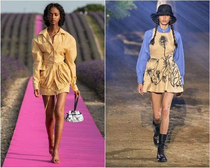 Льняное платье: ТОП-10 моделей 2020-2021 года 23