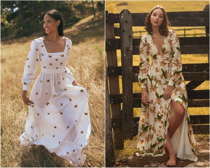 Льняное платье: ТОП-10 моделей 2020-2021 года 25