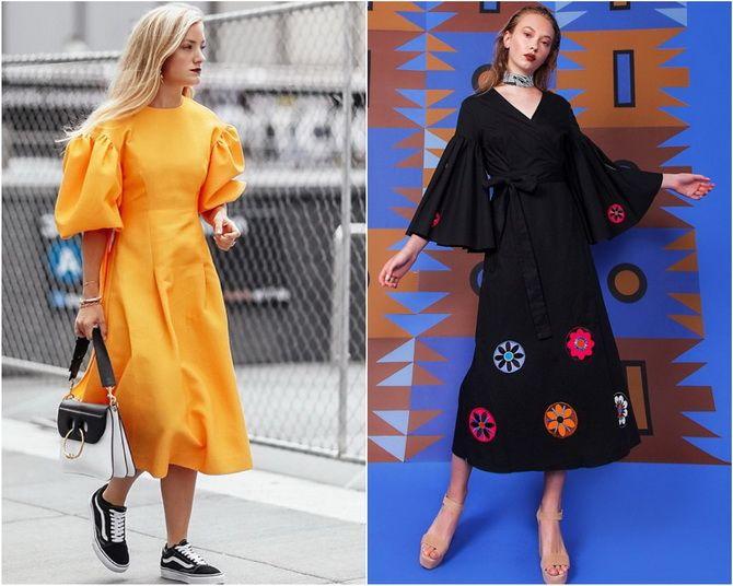 Льняное платье: ТОП-10 моделей 2020-2021 года 27