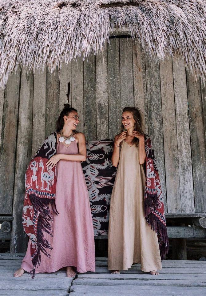 Льняное платье: ТОП-10 моделей 2020-2021 года 6