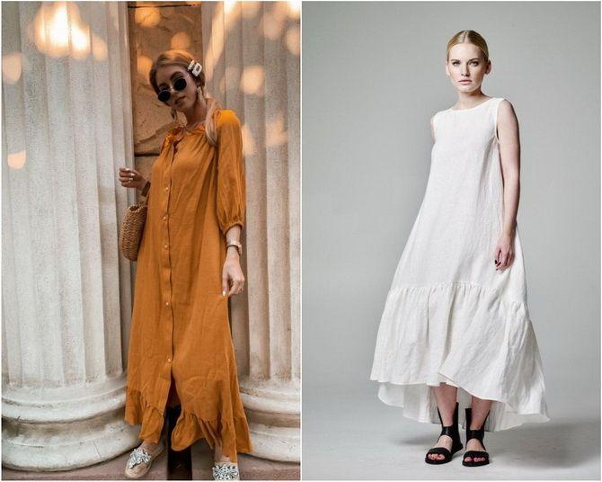 Льняное платье: ТОП-10 моделей 2020-2021 года 7