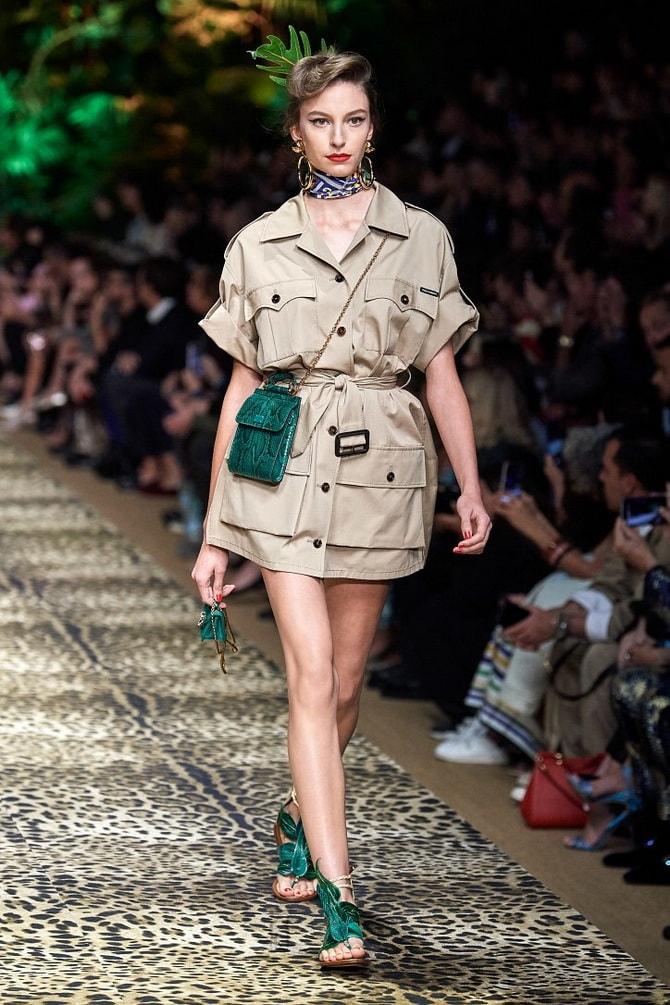 В стиле сафари: как выбрать модное платье 2020-2021 года 1
