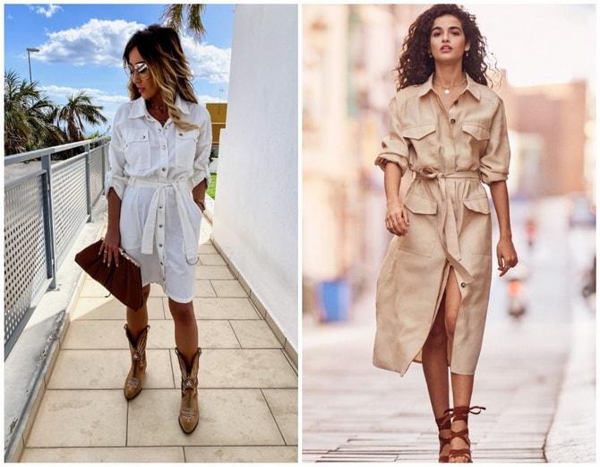 В стиле сафари: как выбрать модное платье 2020-2021 года 11