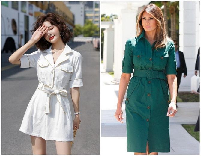 В стиле сафари: как выбрать модное платье 2020-2021 года 10