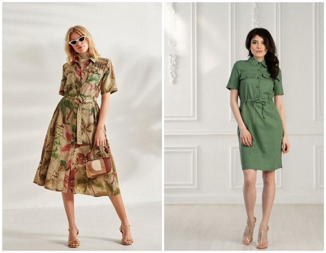 В стиле сафари: как выбрать модное платье 2020-2021 года 12