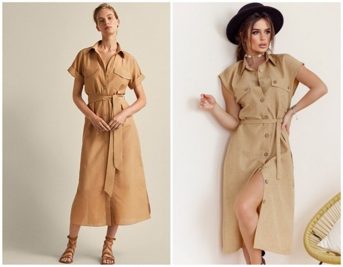 В стиле сафари: как выбрать модное платье 2020-2021 года 13
