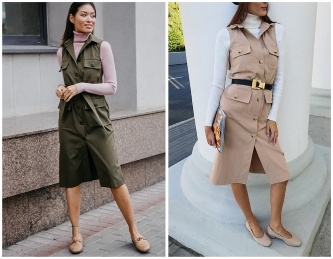 В стиле сафари: как выбрать модное платье 2020-2021 года 16