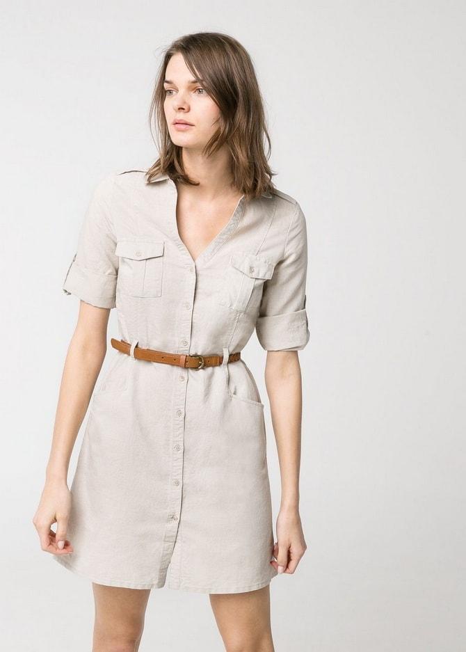 В стиле сафари: как выбрать модное платье 2020-2021 года 17