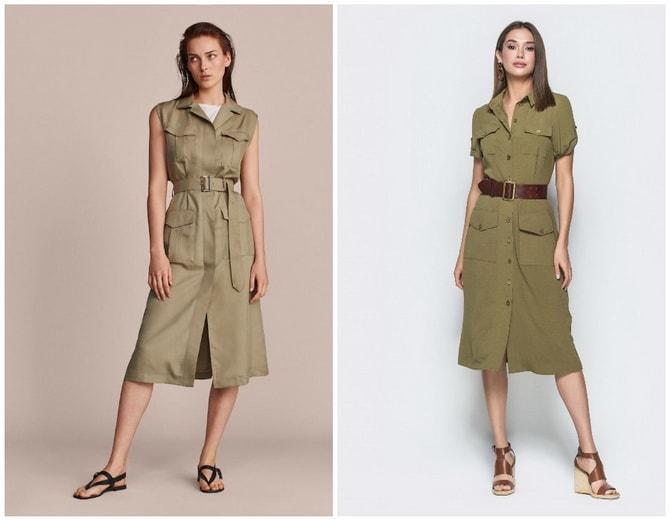 В стиле сафари: как выбрать модное платье 2020-2021 года 23