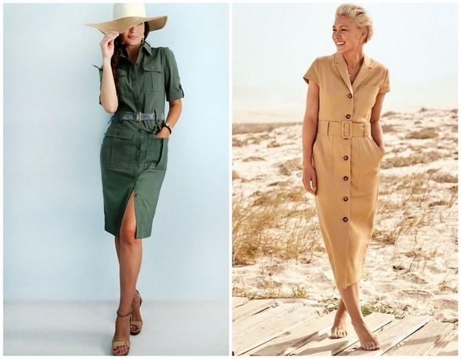 В стиле сафари: как выбрать модное платье 2020-2021 года 24