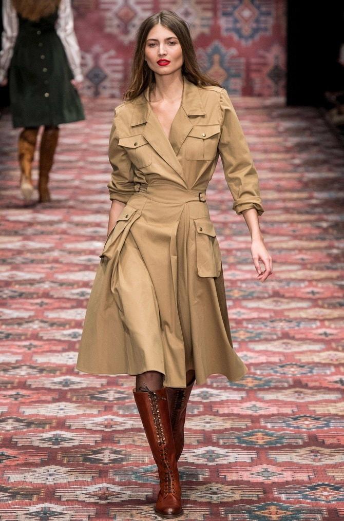 В стиле сафари: как выбрать модное платье 2020-2021 года 25