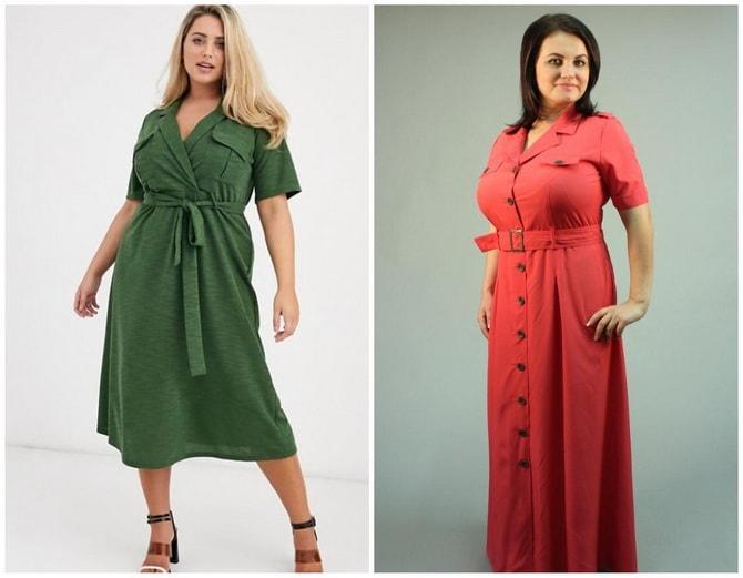 В стиле сафари: как выбрать модное платье 2020-2021 года 26