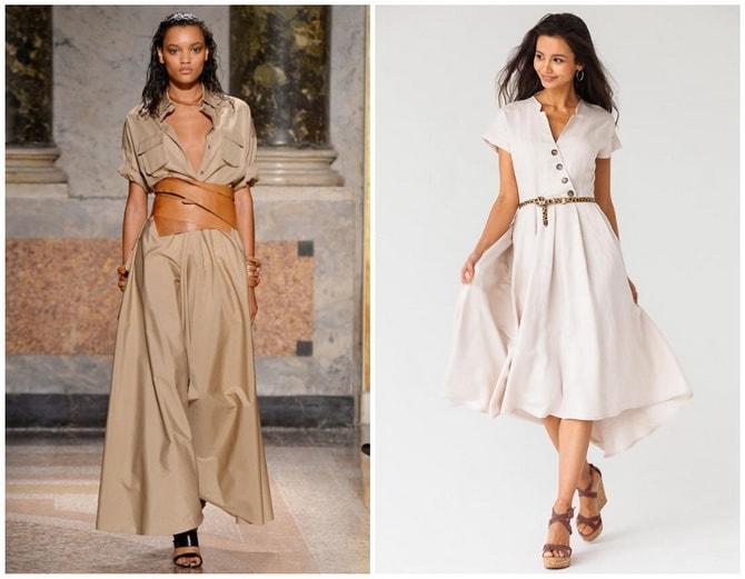 В стиле сафари: как выбрать модное платье 2020-2021 года 30