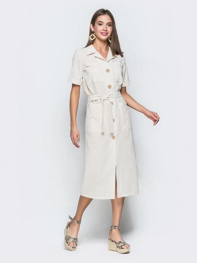 В стиле сафари: как выбрать модное платье 2020-2021 года 33