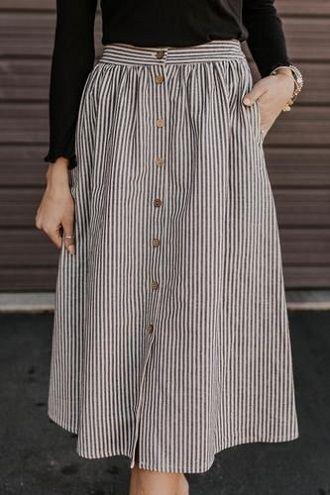 Без ограничений: модные летние юбки для полных женщин 2020 30