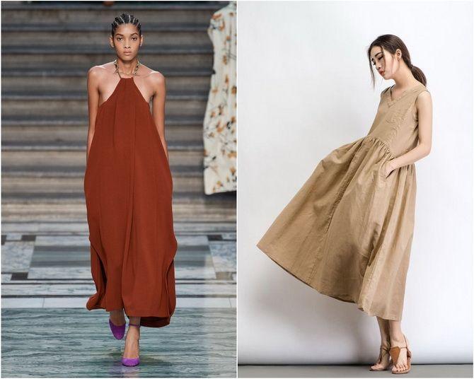 Широкие и роскошные: самые модные расклешенные платья 2021-2022 года 9