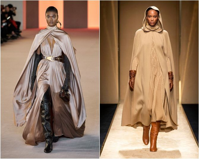 Широкие и роскошные: самые модные расклешенные платья 2021-2022 года 15